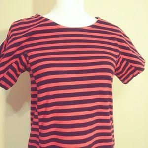 J. Crew Dresses - J. Crew Striped T-Shirt Dress - C6514 - Small